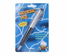 New Electric Shock Pen Joke Gag Novelty Gift Party Office Ball Point Rollerball