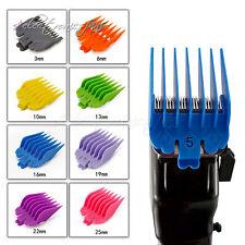 8Pcs 3mm-25mm Universal Hair Clipper Limit Combs Guide Attachment Comb Set