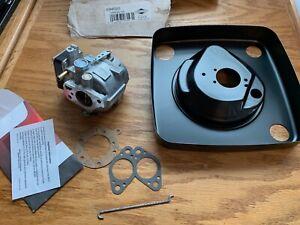 Genuine Briggs & Stratton 694026 Carburetor Kit Air Filter Base 692814 491630