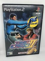 Time Crisis 2 Sony Playstation 2 PS2 15+ FPS Shooter Game COMPLETE WITH MANUAL