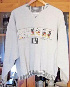 Micky Maus - 1957 - Sweatshirt , Boys Only , Groesse XL , Baumwolle ,Walt Disney