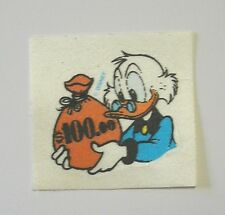 VECCHIO ADESIVO / Old Sticker DISNEY ZIO PAPERONE Uncle Duck (cm 6x6)