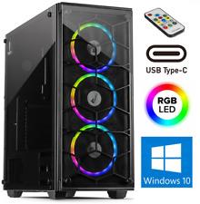 Gamer 6-Core PC AMD Ryzen 5 5600X 8-64GB SSD+HDD B550M RTX3060 12GB Win10 Gaming