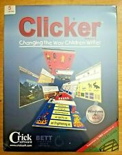 Clicker 5 Changing The Way Children Write Educational Software Win & Mac Sealed