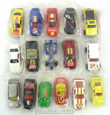 Getty Hot Wheels Complete 16 Car Set Corvette Camaro Gasoline Promotion Baggie