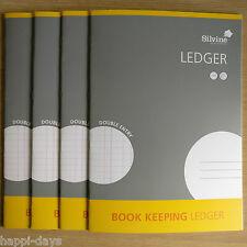 NUOVO - 4 x a4 Contabilità Ledger-Silvine Conti Office Home cassa - 4 X Books