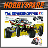 NEW TAMIYA THE GRASSHOPPER 1/10 RC 2WD OFFROAD BUGGY KIT 58346 with TBLE02 ESC