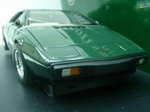 WOW EXTREMELY RARE Lotus 1979 Esprit S2 RHD 160HP B.R.Green 1:18 Auto Art-111/V8