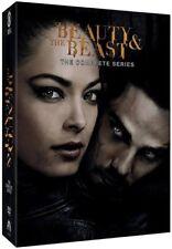 Beauty & and the Beast Complete TV Series Reboot Season 1-4 1 2 3 4 DVD SET