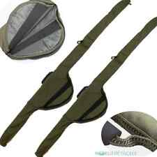 Rod Sleeve / Bag Padded x2 For Made Up Rods Carp Fishing for 12ft or 13ft Rods