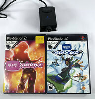 Sony PS2 EYE TOY lot - USB Motion Camera EyeToy and Games TESTED WORKING