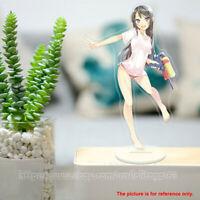 Seishun Buta Yarou Sakurajima Mai Anime Figure Acrylic Stand Toy Display model