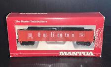 Mantua 731-062 43' Burlington Gondola HO Train Car