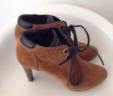 Sergio Rossi Lace Up Booties Size 39