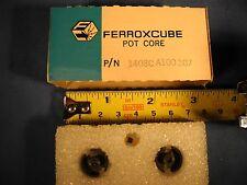 Ferroxcube Pot Core Ferrite P/N 1408C A100 3B7 NOS