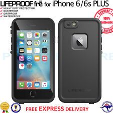 "GENUINE LifeProof Fre Case WaterProof Cover for iPhone 6 Plus 6s Plus 5.5"" Black"