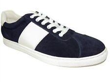 Bar III Men's Keagan Suede Low-Top Sneakers Navy Size 9 M