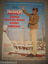 HEINTJE EINMAL WIRD DIE SONNE WIEDER SCHEINEN -KINOPLAKAT A1- Heinz Reincke