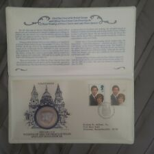 first day cover, commemorating prince Charles wedding