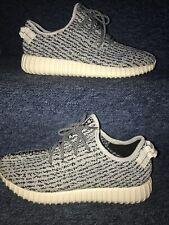 Adidas YEEZY Boost 350 Turtle Dove Black Grey Size UK 9.5 Kanye West Trainer New