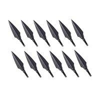 12pcs Screw-In Broadheads 150 Grain Traditional Hunting Arrow Head Arrow Archery
