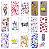 LFE Ultra-Thin Transparent Lovely Printed Soft TPU Back Case Cover Skin For