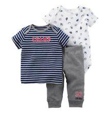 Carter's Boys ~ 3pc 100% Cotton Shirt/Bodysuit/Pant Set ~ New w/tags ~ Newborn