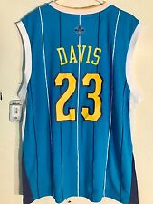Adidas NBA Jersey New Orleans Hornets Anthony Davis Teal sz L  PELICANS
