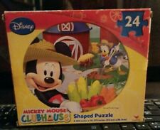 Disney Mickey Mouse Clubhouse 24-Piece Jigsaw Puzzle! New Sealed!