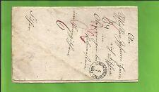 Th & T / RAUSCHENBERG 4/1 1852 auf Pracht-Tax.-Brief n. Oberwengen b Volmerstein