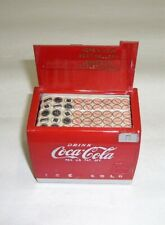 VINTAGE 1950'S COCA-COLA MINIATURE COOLER SALESAID