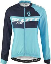 SCOTT RC AS Da Donna Manica Lunga Ciclismo in jersey MEDIUM RRP £ 67.50