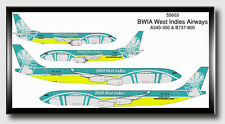Dragon Wing Diecast 1/400 BWIA A340-300 & 737-800