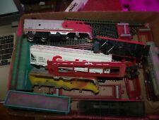 Vintage Model Train Cars lot piece parts
