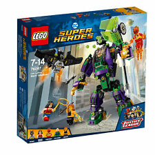76097 LEGO Dc Comics Super Heroes Lex Luthor Mech Takedown 406 Pieces Age 7+