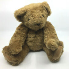 """Vermont Teddy Bear Co 15"""" Jointed Moveable Bear Plush Stuffed Animal Light Brown"""
