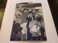PHOTO ORIGINALE MIREILLE MATHIEU - MICHEL DELPECH 1967 (18x13)