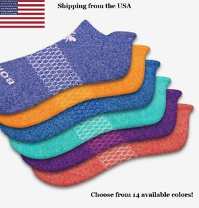 NEW!!! Bombas Women's Ankle Socks Classic Marls Honeycomb Medium