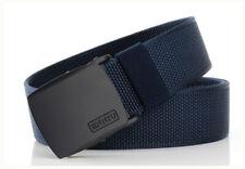 "47"" ENNIU Men Tactical Belt Thick Nylon Canvas Waist Train Outdoor Fashion Strap"