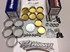 Big Block Chevy 396 454 Engines Cam Bearings / Brass Freeze Plug / HP Dowels Kit