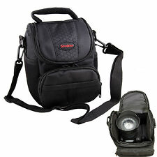 PU Leather and Nylon DSLR Camera Bag for Nikon D3300 D5300 D610 DF
