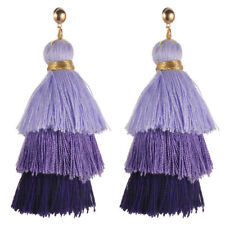 Fringe Dangle Earrings Boho Jewelry Vintage Bohemian Earrings Women Long Tassel
