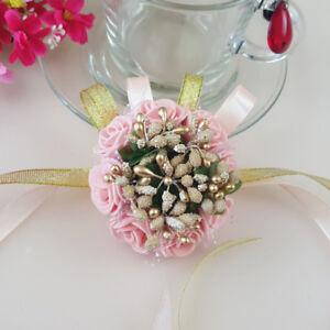 Beautiful Bridal Flower Bridesmaid Wrist Hand Beauty Party Decor Wedding Supply