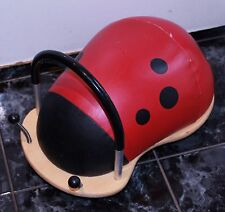 GENUINE WHEELY BUG LADYBIRD BUG RIDE ON BABY KIDS TOY BOYS GIRLS RED BLACK RP$99