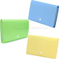1× Mini Bills Receipt File Document Bag Pouch Folder Card Holder Organizer New