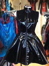 Misfitz sexy black Pvc skater mistress dress size 22 TV Goth CD Fetish Club