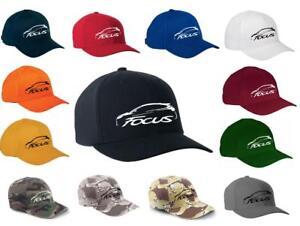 2011-18 Ford Focus Classic Color Outline Design Hat Cap NEW