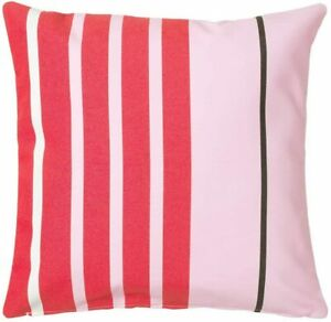 New IKEA Funkon In/Outdoor Cushion Cover Pink Red 50x50cm