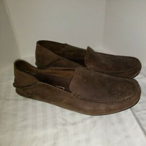 Sperry Topsider Brown Leather Loafers Mens Size 12M