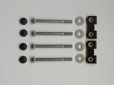 Land Rover Defender 90 / 110, Front Bumper Bolts kit set, stainless steel